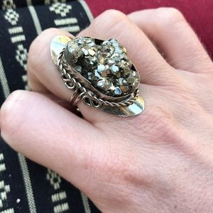 Jewelry - Iron Pyrite 'Fools Gold' Ring
